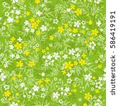Natural Seamless Pattern With...