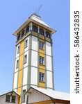 Tower Of Old Colonial Building...