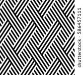 vector seamless pattern. modern ... | Shutterstock .eps vector #586457111