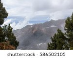 a foggy day in the mountains | Shutterstock . vector #586502105