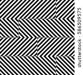 vector seamless pattern.... | Shutterstock .eps vector #586509575