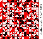 geometric seamless pattern... | Shutterstock .eps vector #586514039
