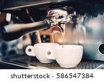 proffessional brewing   coffee... | Shutterstock . vector #586547384