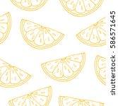 seamless pattern. white... | Shutterstock .eps vector #586571645