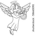 angel | Shutterstock .eps vector #58660090