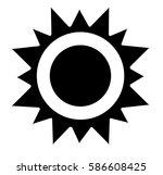 vector illustration of a sun... | Shutterstock .eps vector #586608425