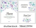 Watercolor Set Of Backgrounds...