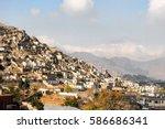 Informal settlements in kabul...