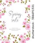 Cherry Blossom Sale Card....