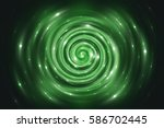 Abstract Fractal Green...