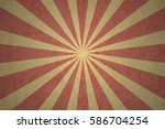 vector background sun rays in... | Shutterstock .eps vector #586704254
