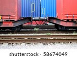 Trains Loaded With Container O...