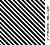 black diagonal lines. striped... | Shutterstock .eps vector #586743254