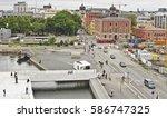 oslo  norway   august 28 ... | Shutterstock . vector #586747325