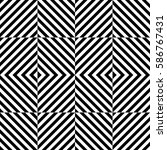 vector seamless pattern.... | Shutterstock .eps vector #586767431