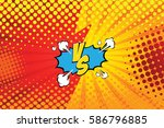 fight backgrounds comics style... | Shutterstock .eps vector #586796885
