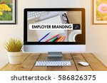 Small photo of COMPUTER SCREEN CONCEPT : EMPLOYER BRANDING