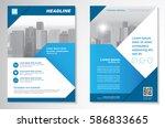 template vector design for... | Shutterstock .eps vector #586833665