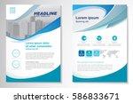 template vector design for... | Shutterstock .eps vector #586833671