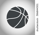 Basketball Ball Black And White