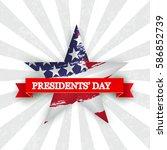 presidents day    Shutterstock .eps vector #586852739