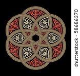 ancient design | Shutterstock .eps vector #58686370