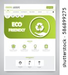 eco clean modern website...