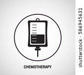 chemotherapy medical logo... | Shutterstock .eps vector #586945631