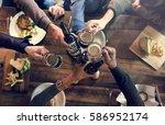 craft beer booze brew alcohol... | Shutterstock . vector #586952174