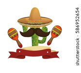 Animated Sketch Cactus With...