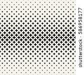 geometric halftone stars...   Shutterstock .eps vector #586958177