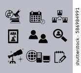thin line icons set. icons for... | Shutterstock .eps vector #586984991