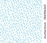 rain drops abstract background. ... | Shutterstock .eps vector #586986365