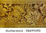 Embroidery Silk Sari Border In...