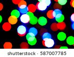 lights holiday bokeh. abstract... | Shutterstock . vector #587007785
