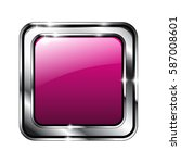 Abstract Pink Rounded Square...