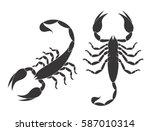 Scorpion Set. Isolated Scorpion ...