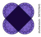 envelope  wrapping  cover laser ... | Shutterstock .eps vector #587019641