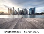 singapore skyline and cityscape   Shutterstock . vector #587046077
