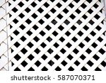 white wood background and... | Shutterstock . vector #587070371
