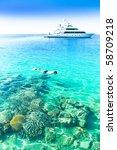 coral seascape | Shutterstock . vector #58709218