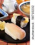 sushi   Shutterstock . vector #58710232