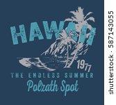 surf typography  t shirt... | Shutterstock .eps vector #587143055