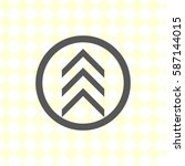 vector icon arrow | Shutterstock .eps vector #587144015