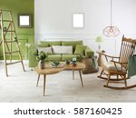 new wall with different... | Shutterstock . vector #587160425