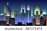 vector illustration background...   Shutterstock .eps vector #587171975