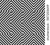 vector seamless pattern.... | Shutterstock .eps vector #587203649