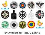 target shooting   Shutterstock . vector #587212541