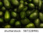 avocados close up | Shutterstock . vector #587228981
