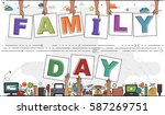 "hands holding ""family day"" for... 